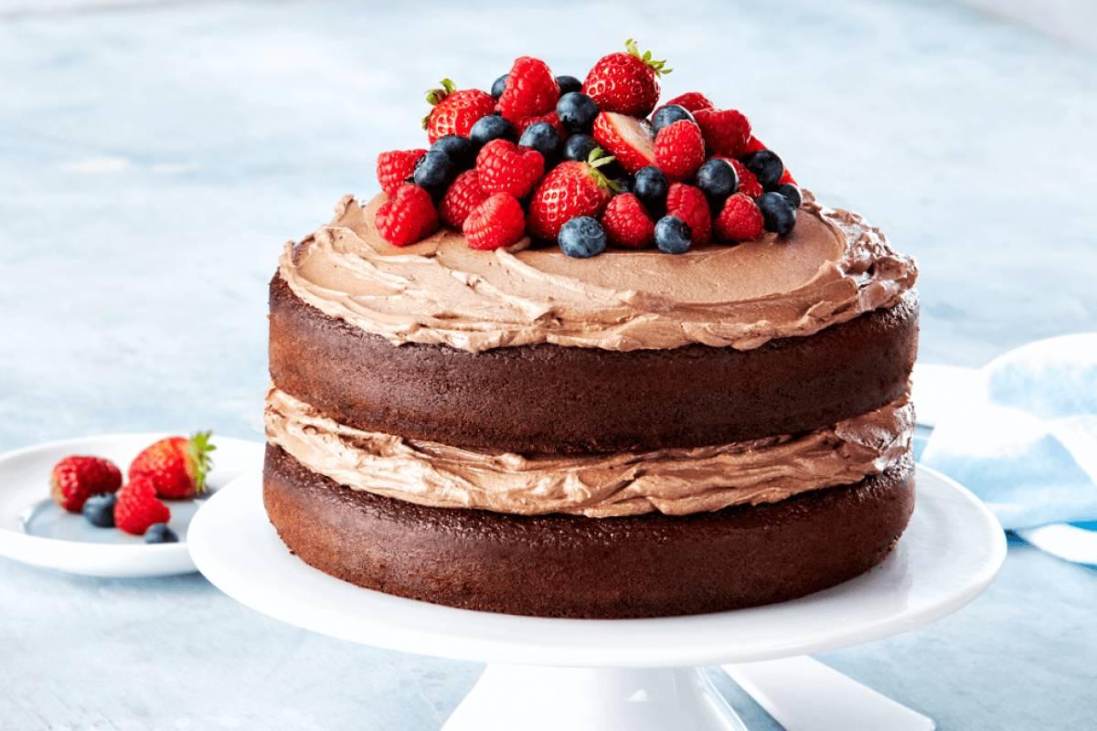 Decadent Choc Layer Cake
