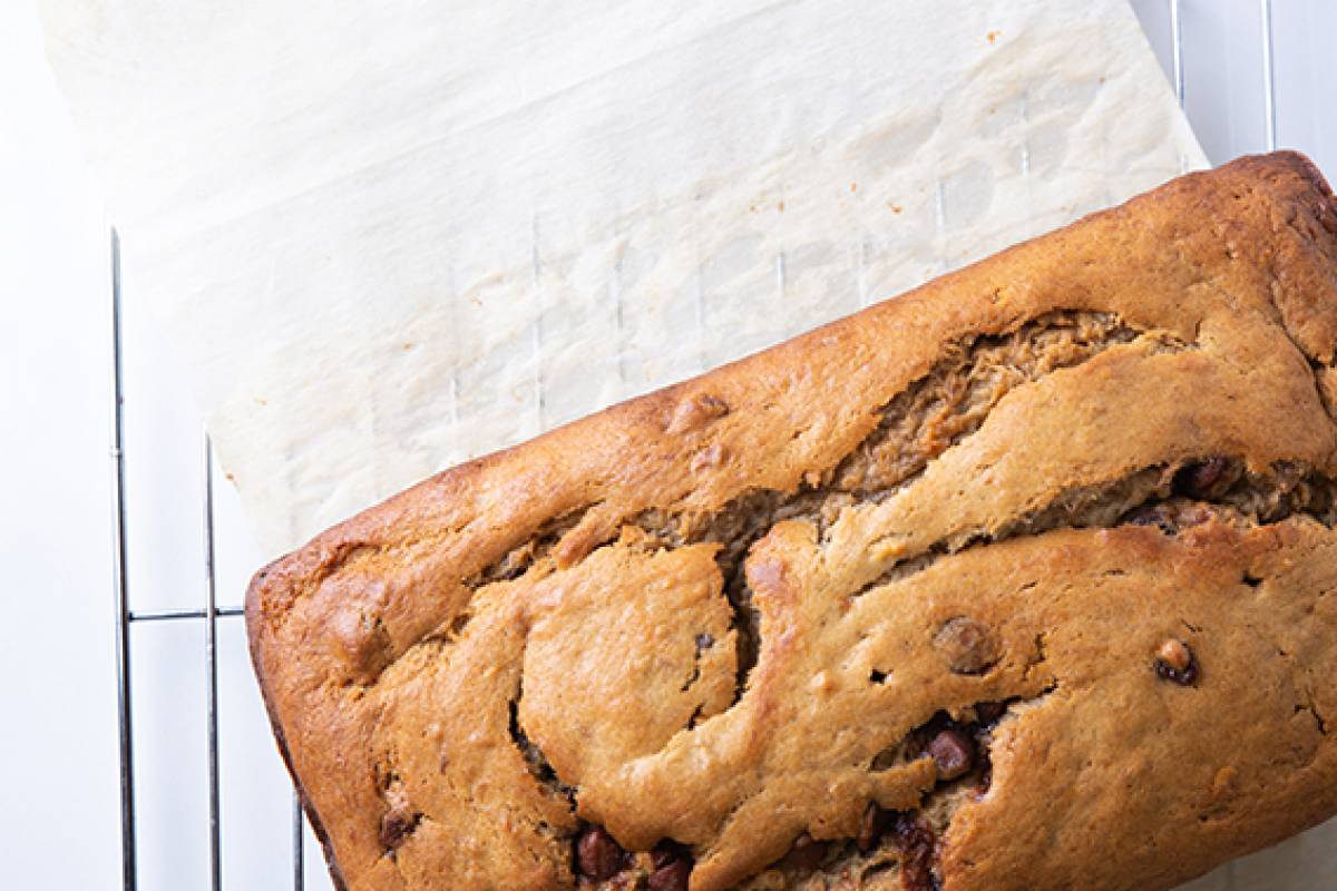 Banana Bread with Choc Chips web