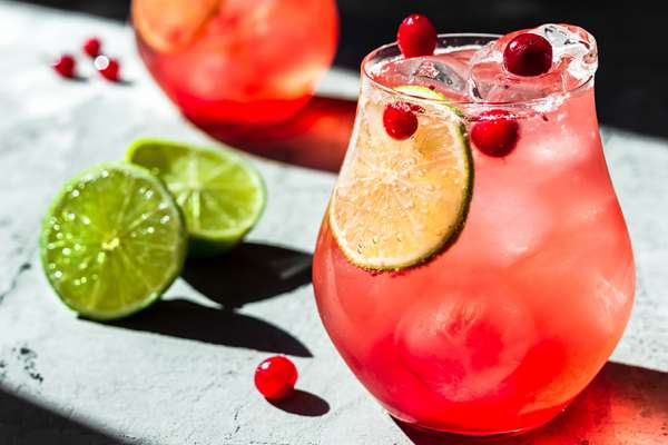Cranberry & Pineapple Mocktails