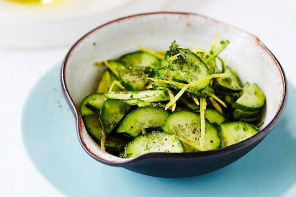 Lemon & cucumber Salad