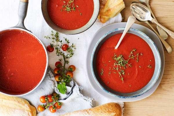 Tomato & Thyme Soup