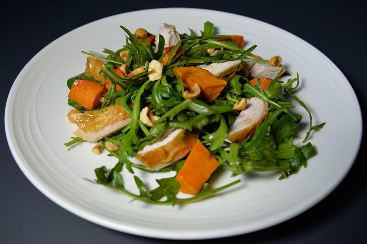 Spin rock salad small