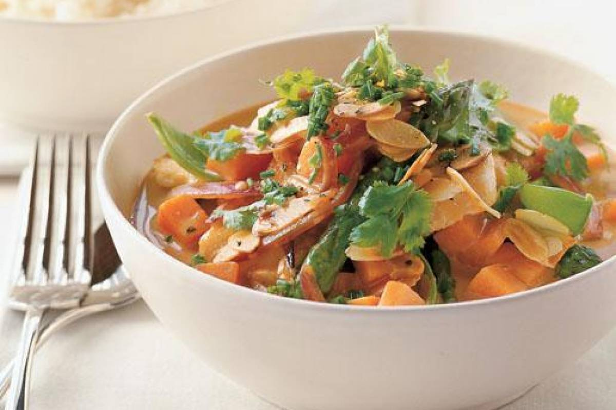 Butter Chicken with Vegetables