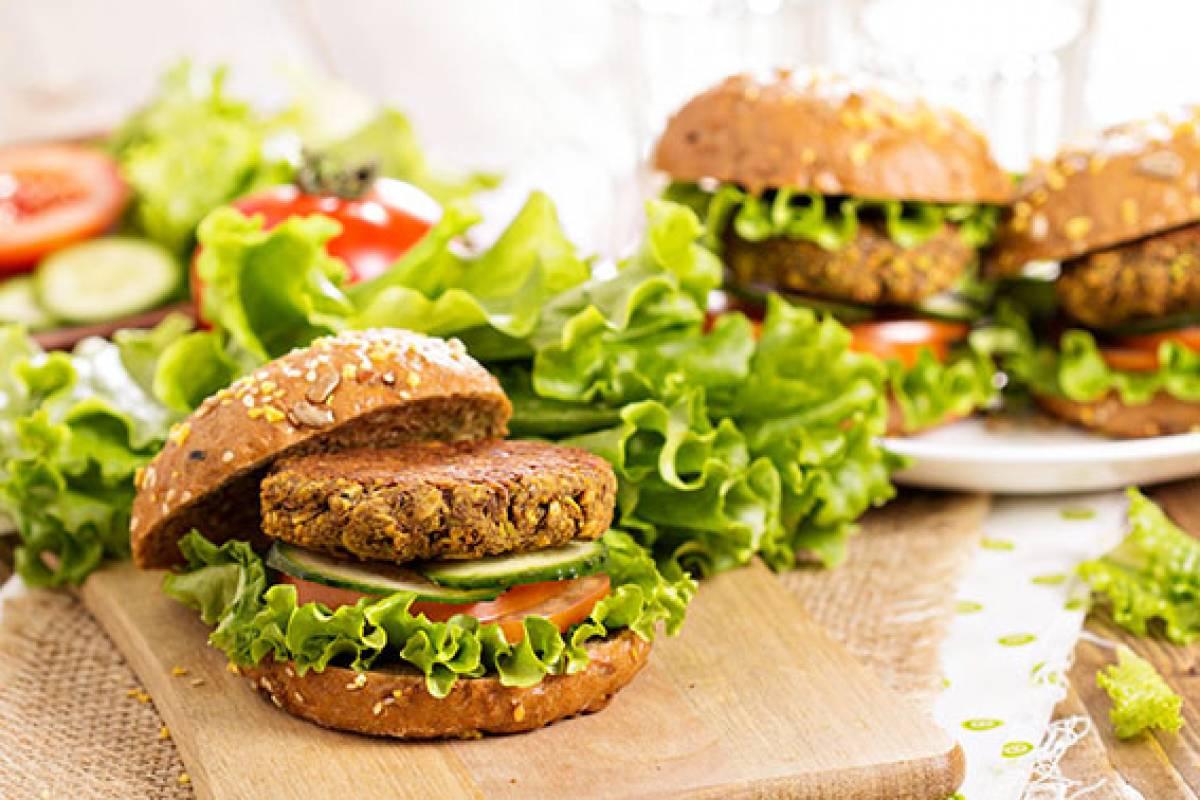 Vegan Chickpea Burger web