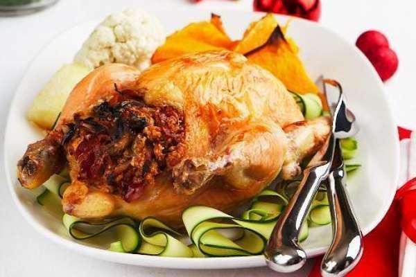 Festive Chicken with Prosciutto Stuffing