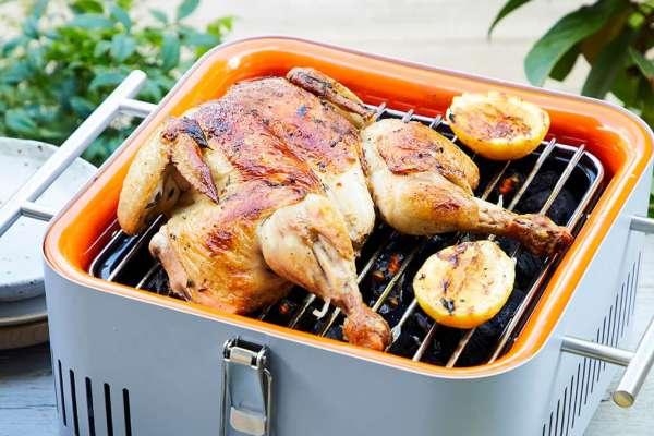 Garlic and Thyme BBQ Chicken