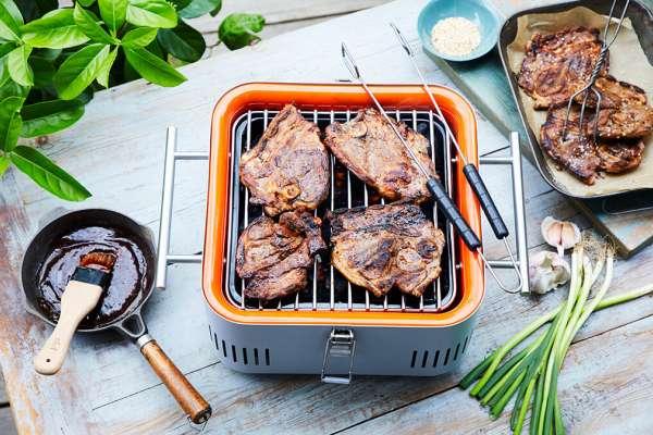 BBQ Hoisin Lamb Chops