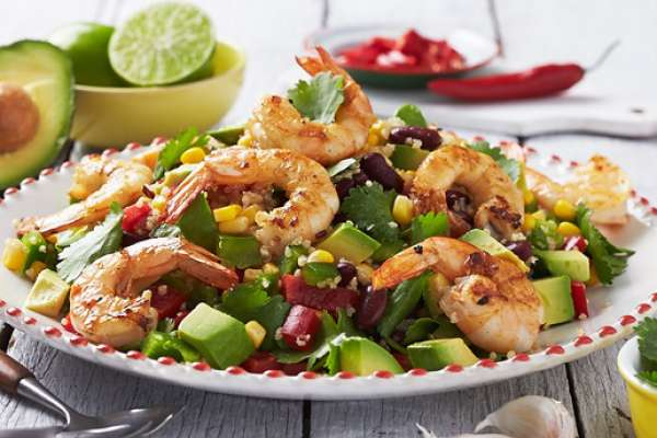Mexican Prawn and Quinoa Salad